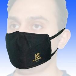 Μάσκα 100% βαμβακερή με 3-ply non wooven φίλτρο