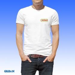 Μπλουζάκια λευκά  με εκτύπωση