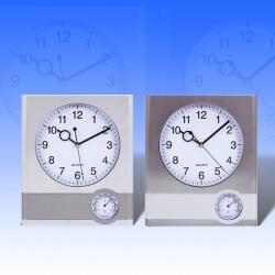 Ρολόι τοίχου με θερμόμετρο
