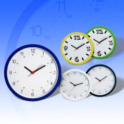 Ρολόι τοίχου σε πέντε χρώματα