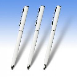Μεταλλικό στυλό Λευκό και έγχρωμη εκτύπωση