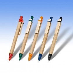 Στυλό οικολογικό με ξύλινο clip