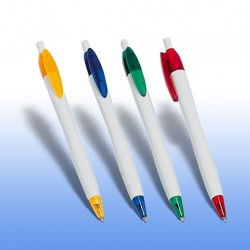 Στυλό με ΑΣΗΜΙ κορμό και έγχρωμη εκτύπωση